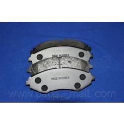 Комплект тормозных колодок (Parts-Mall) PKC003