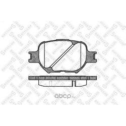 Комплект тормозных колодок (Stellox) 753000SX