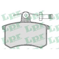 Комплект тормозных колодок, дисковый тормоз (Lpr) 05P215