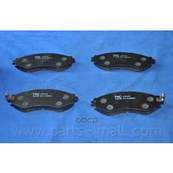 Комплект тормозных колодок (Parts-Mall) PKC013