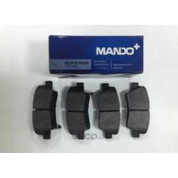 Комплект тормозных колодок (Mando) MPH39