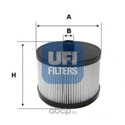 Топливный фильтр (UFI) 2602200
