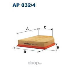 Фильтр воздушный Filtron (Filtron) AP0324