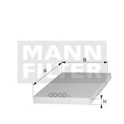 Фильтр, воздух во внутренном пространстве (MANN-FILTER) CU3569