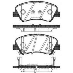 Колодка дискового тормоза с накладками в сборе (TRANSMASTER) TR273C