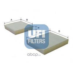Фильтр, воздух во внутренном пространстве (UFI) 5314300