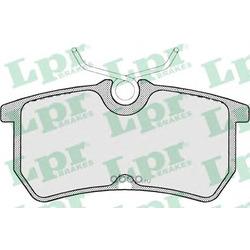 Комплект тормозных колодок, дисковый тормоз (Lpr) 05P697