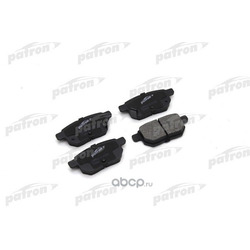 Колодки тормозные дисковые задн TOYOTA: COROLLA 150 07-, COROLLA седан 02-, AURIS 06-, YARIS 05- (PATRON) PBP4042