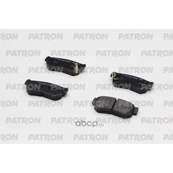 Колодки тормозные дисковые задние (PATRON) PBP1606KOR