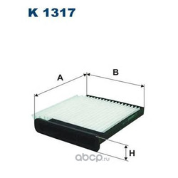 Фильтр салонный Filtron (Filtron) K1317