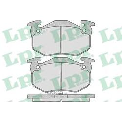Комплект тормозных колодок, дисковый тормоз (Lpr) 05P307