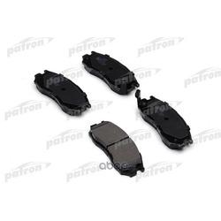 Колодки тормозные дисковые передние (PATRON) PBP764