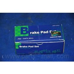 Комплект тормозных колодок (Parts-Mall) PKA033