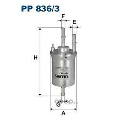 Фильтр топливный Filtron (Filtron) PP8363