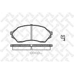 Комплект тормозных колодок (Stellox) 710000BSX
