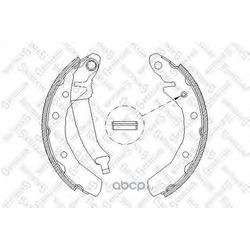 Комплект тормозных колодок (Stellox) 097100SX