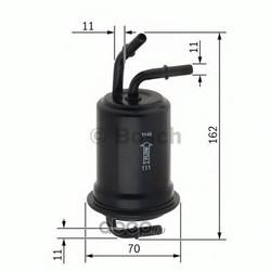 Топливный фильтр (Bosch) 0450905973