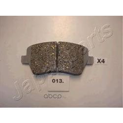 Комплект тормозных колодок, дисковый тормоз (Japanparts) PA013AF