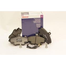 Комплект тормозных колодок, дисковый тормоз (Klaxcar) 24633Z