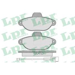 Комплект тормозных колодок, дисковый тормоз (Lpr) 05P1262
