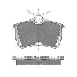 Колодки торм.RR (SCT) SP607