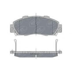 Колодки торм.FR (SCT) SP253
