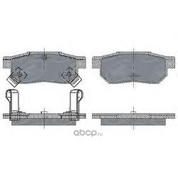 Колодки торм.RR (SCT) SP195