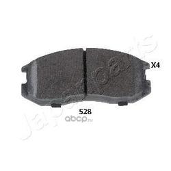 Комплект тормозных колодок, дисковый тормоз (Japanparts) PA528AF
