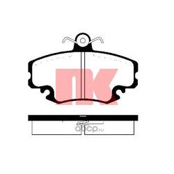 Комплект тормозных колодок, дисковый тормоз (Nk) 229957