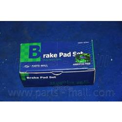 Комплект тормозных колодок (Parts-Mall) PKC006