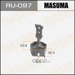 Подушка крепления глушителя (Masuma) RU097