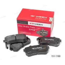 Колодки дисковые (Ween) 1511188