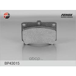 Комплект тормозных колодок, дисковый тормоз (FENOX) BP43015