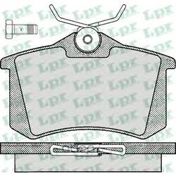 Комплект тормозных колодок, дисковый тормоз (Lpr) 05P294
