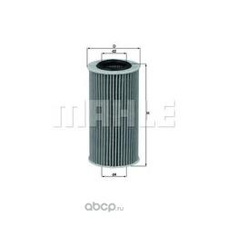Масляный фильтр (Mahle/Knecht) OX379D