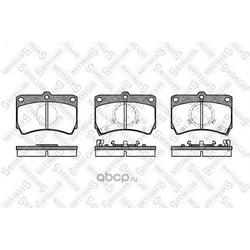 Комплект тормозных колодок (Stellox) 223012SX