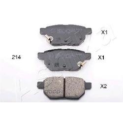Комплект тормозных колодок, дисковый тормоз (Ashika) 5102214