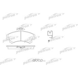 Колодки тормозные дисковые передние (PATRON) PBP1093