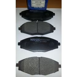 Комплект тормозных колодок, дисковый тормоз (Mando) MPD06