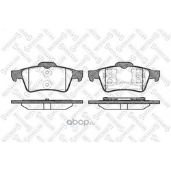 Комплект тормозных колодок (Stellox) 853000BSX