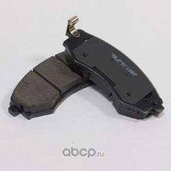 Колодки тормозные дисковые передние к-т (HSB) HP0007