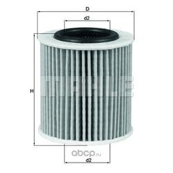 Масляный фильтр (Mahle/Knecht) OX834D