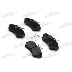 Колодки тормозные дисковые передн NISSAN: ALMERA II 00-, PRIMERA 90-96, PRIMERA 96-01, PRIMERA Hatchback 90-96, PRIMERA Hatchback 96-02 (PATRON) PBP604