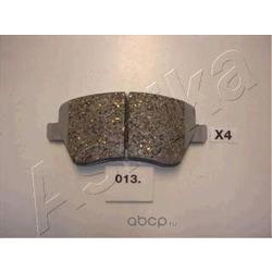 Комплект тормозных колодок, дисковый тормоз (Ashika) 5000013