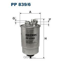 Фильтр топливный Filtron (Filtron) PP8396