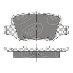 Колодки торм.RR (SCT) SP410