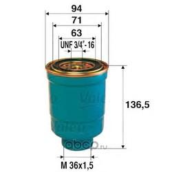 Топливный фильтр (Valeo) 587709