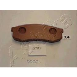 Комплект тормозных колодок, дисковый тормоз (Ashika) 5102210