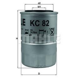 Топливный фильтр (Mahle/Knecht) KC82D