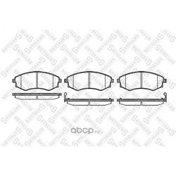 Комплект тормозных колодок, дисковый тормоз (Stellox) 329012BSX